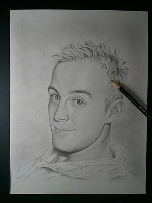 Drawing - After by Joe Burgess