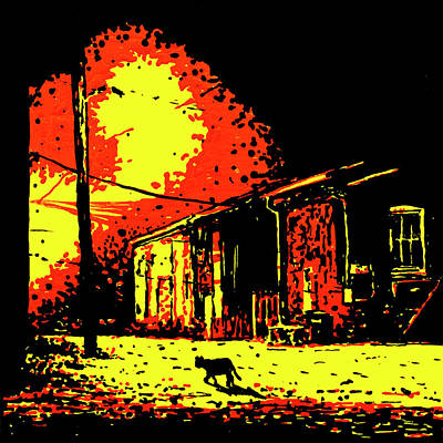 Painting - After Midnight - Color by Rob Blauser