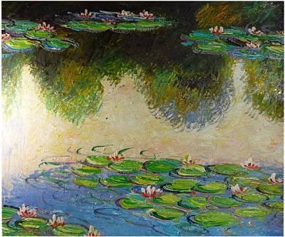 After Monet 2 Art Print by The Art Markets
