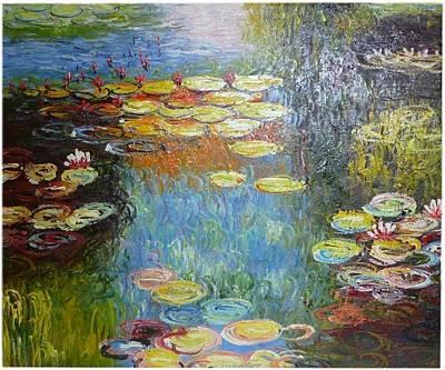 After Monet Art Print by The Art Markets