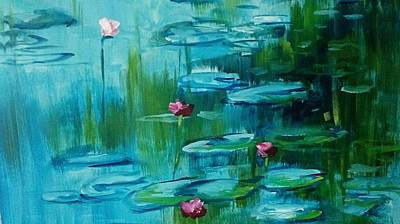 Painting - After Monet by Kathy  Karas