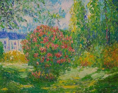 After Monet Original by Lore Rossi