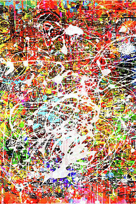 Digital Art - After Pollack by Gary Grayson