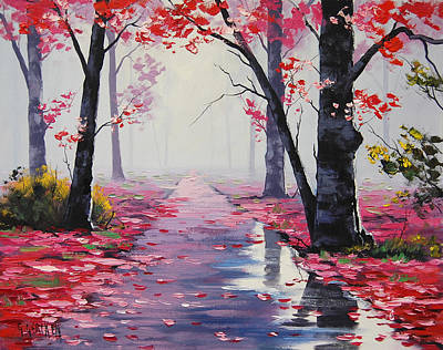 Gercken Painting - After Rain by Graham Gercken