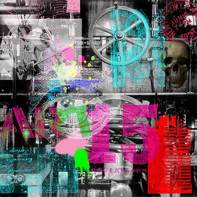 Digital Art - After Rauschenberg 2 by Gary Grayson