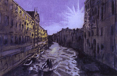 After Rio Dei Mendicanti Looking South Art Print by Hyper - Canaletto