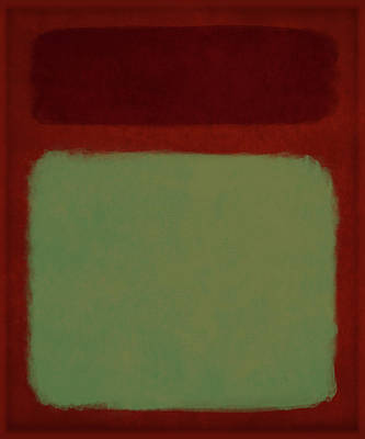 Painting - After Rothko-10 by Gary Grayson
