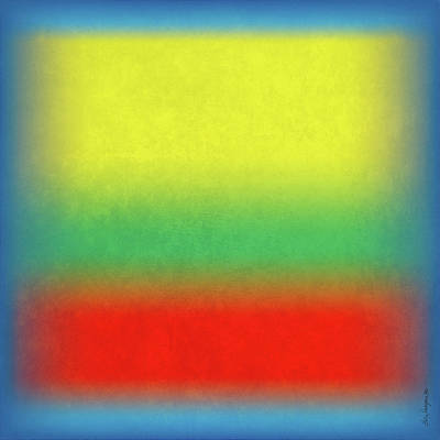 Digital Art - After Rothko 4 by Gary Grayson
