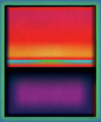 Digital Art - After Rothko Tall 1 by Gary Grayson