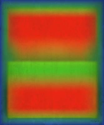Digital Art - After Rothko Tall 4 by Gary Grayson