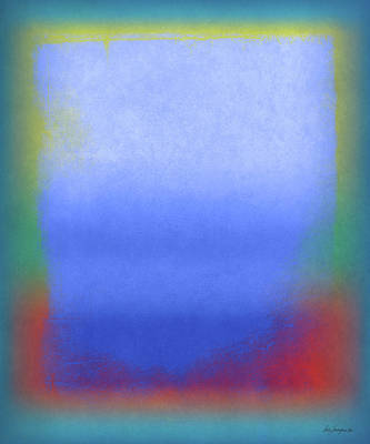 Digital Art - After Rothko Tall 6 by Gary Grayson