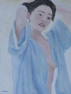 Painting - After Shower by Masami Iida
