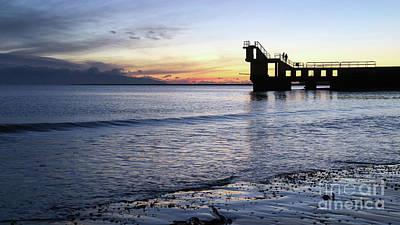 Photograph - After Sunset Blackrock 1 by Peter Skelton