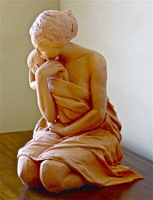 Sculpture - After The Bath by Deborah Dendler