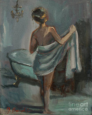 Painting - After The Bath by Jennifer Beaudet