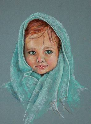 Painting - After The Bath by Pamela Mccabe