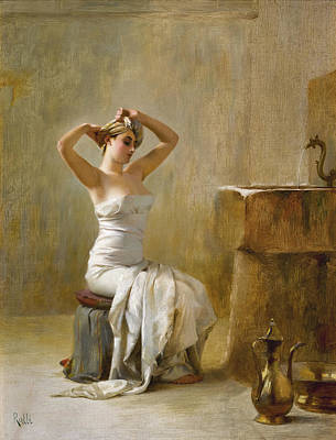 Painting - After The Bath by Theodoros Rallis