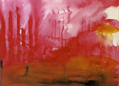 Ruins Mixed Media - After The Fire by Judith Redman