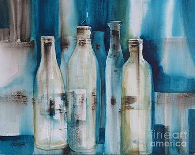 Painting - After The Party by Donna Acheson-Juillet