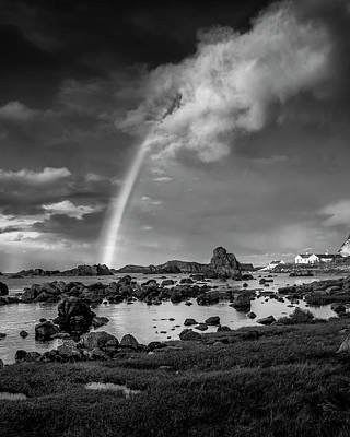 Photograph - After The Rain Ballintoy by Glen Sumner