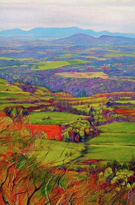 Blue Ridge Painting - After The Rain by Bonnie Mason