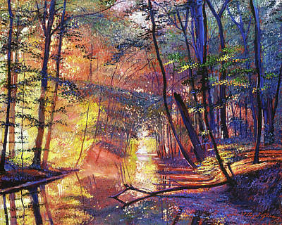 Painting - After The Rain by David Lloyd Glover
