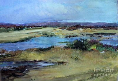 Art Print featuring the painting After The Rain by Diane Ursin