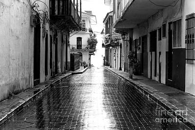 Photograph - After The Rain In Casco Viejo by John Rizzuto