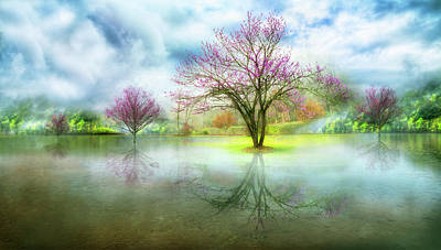 Photograph - After The Rain In The Spring by Debra and Dave Vanderlaan