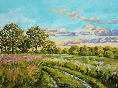 Painting - After The Rain by Ingrid Dohm