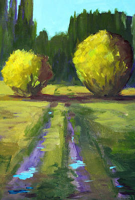 Painting - After The Rain by Nancy Merkle