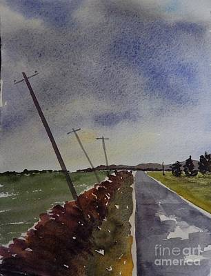 Painting - After The Rain by Penny Stroening