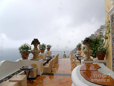 After The Rain. Positano Print by Tanya  Searcy