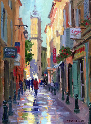 Southern France Painting - After The Rain by Roelof Rossouw
