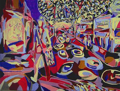 After The Show  Art Print by Tadeush Zhakhovskyy