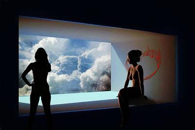 Digital Art - After The Showers by John Haldane