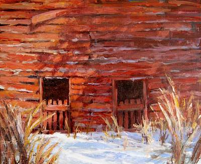 Painting - After The Snow II by L Diane Johnson