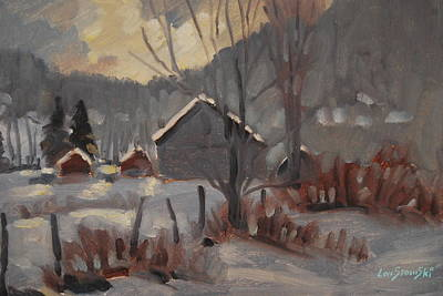 Painting - After The Snow by Len Stomski
