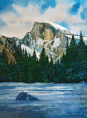 After The Snowfall, Yosemite Art Print