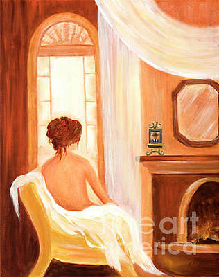 Painting - After The Spa by Pati Pelz
