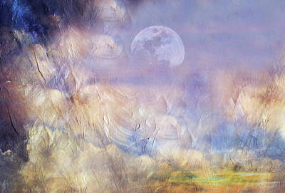 Landscape Mixed Media - After The Storm Abstract Realism by Georgiana Romanovna