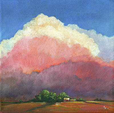 Painting - After The Storm by Arie Van der Wijst