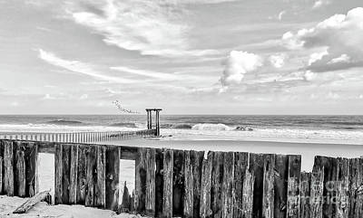Photograph - After The Storm Black And White by Kathy Baccari