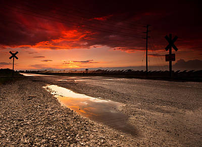 Gravel Road Photograph - After The Storm by Cale Best