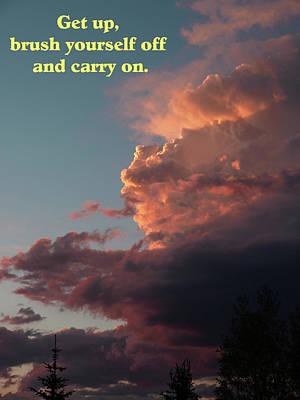 Photograph - After The Storm Carry On by DeeLon Merritt