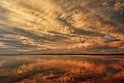 Photograph - After The Storm Cloudscape by HH Photography of Florida