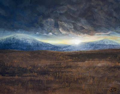 Painting - After The Storm - Cool Tone by Jessica Tookey