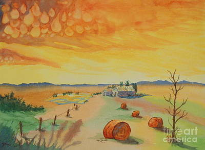 Bales Painting - After The Storm by Diane Toro