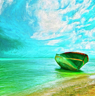 Aground Painting - After The Storm by Dominic Piperata
