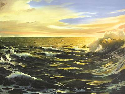 Painting - After The Storm by James R Hahn
